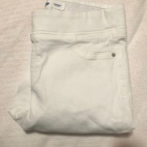 Old Navy white Rockstar Jeggings 12